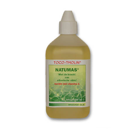 NATUMAS TOCO THOLIN MASSAGE OLIE 500ML