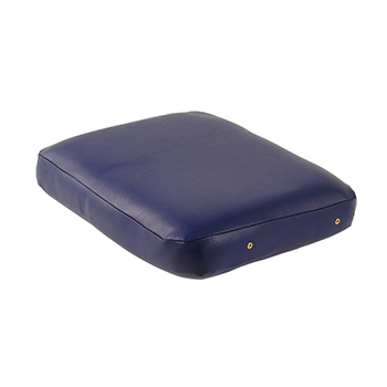 Massagekussen 37x28x8 cm Blauw